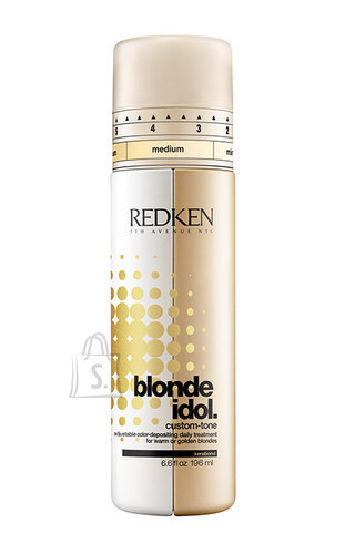Redken Blonde Idol Custom Tone Gold juuksepalsam blondidele 196 ml