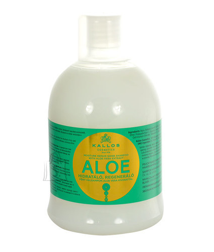 Kallos Aloe Vera Moisture Repair Shine šampoon 1000 ml