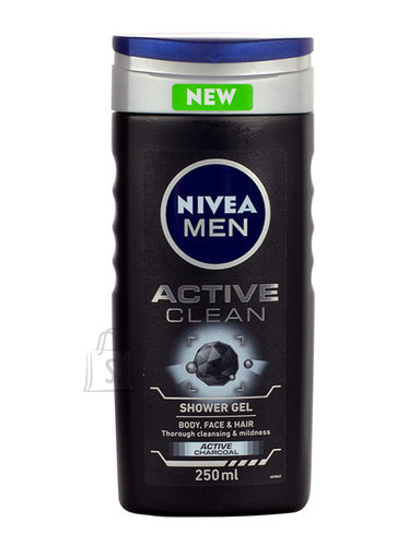 Nivea Men Active Clean dušigeel meestele 250 ml