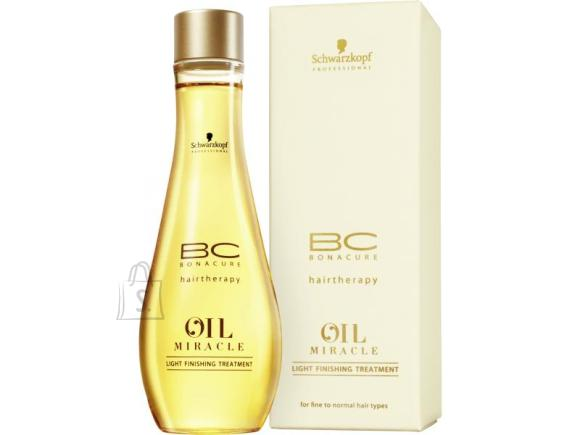 Schwarzkopf BC Bonacure Oil Miracle Light Finishing Treatment juukseõli 100 ml