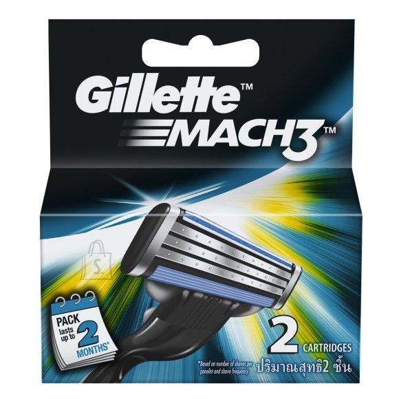 Gillette Mach3 žiletiterad 2 tk