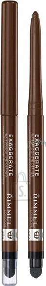 Rimmel London Exaggerate veekindel silmapliiats 0.28 g pruun