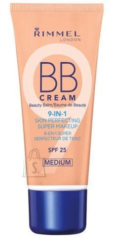 Rimmel London BB Cream 9in1 SPF25 jumestuskreem Medium 30 ml