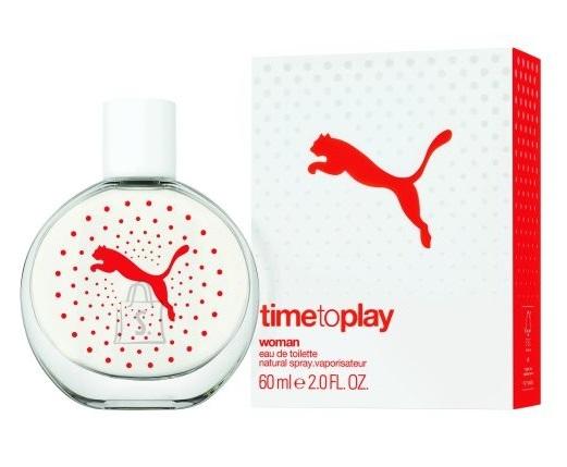 Puma Time to Play Woman tualettvesi naistele EdT 60 ml