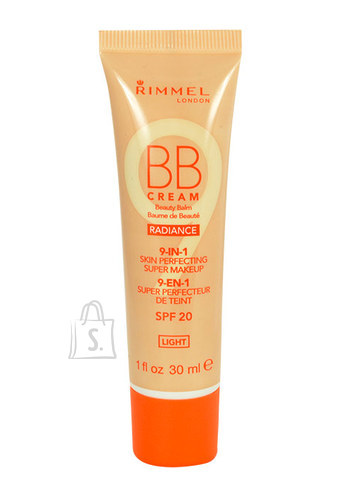 Rimmel London BB Cream 9in1 SPF20 jumestuskreem 30ml
