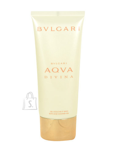 Bvlgari Aqva Divina dušigeel naistele 100 ml
