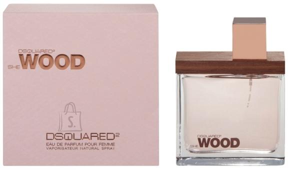 Dsquared2 She Wood parfüümvesi naistele EdP 30 ml