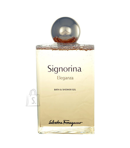 Salvatore Ferragamo Signorina Eleganza dušigeel naistele 200 ml