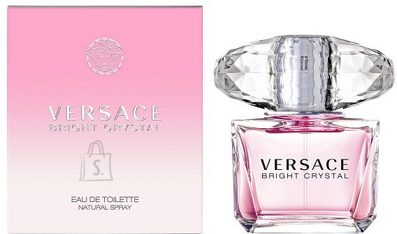 Versace Bright Crystal tualettvesi naistele EdT 30 ml