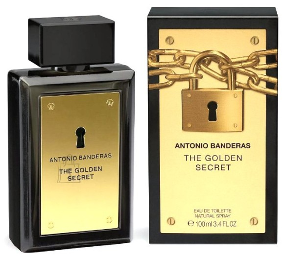 Antonio Banderas The Golden Secret tualettvesi meestele EdT 100 ml