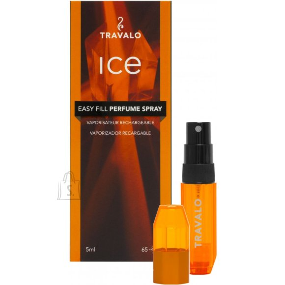 Travalo Ice täidetav parfüümipihusti 5 ml oranž