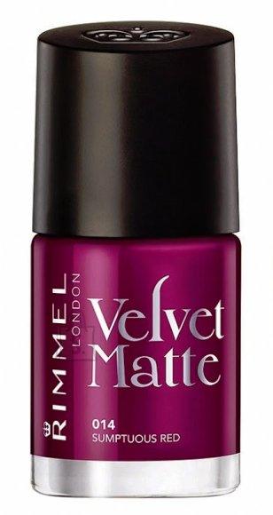 Rimmel London Velvet Matte küünelakk 12 ml