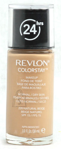 Revlon Colorstay Makeup Normal Dry Skin jumestuskreem Natural Beige 30ml