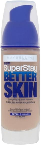 Maybelline SuperStay Better Skin SPF20 jumestuskreem Nude 30 ml