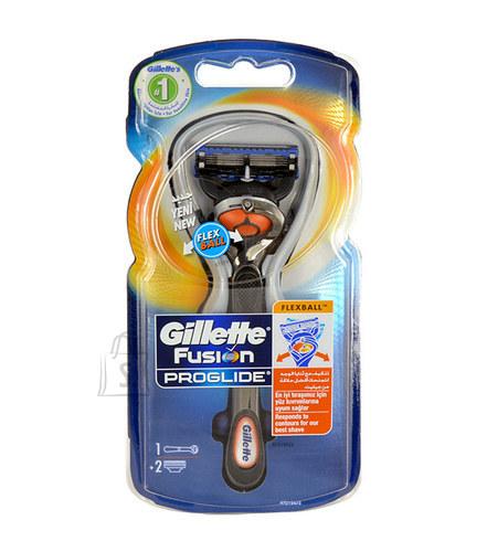 Gillette Fusion Proglide Flexball raseerija 1 tk + 2 raseerimispead