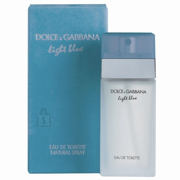 Dolce & Gabbana Light Blue tualettvesi naistele EdT 25 ml