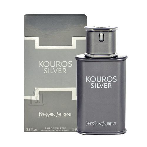 Yves Saint Laurent Kouros Silver tualettvesi meestele EdT 100 ml