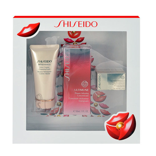 Shiseido Ultimune näohoolduskomplekt naistele 87 ml
