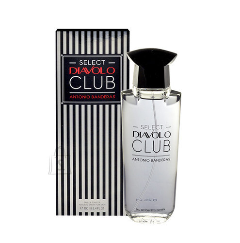 Antonio Banderas Select Diavolo Club tualettvesi meestele EdT 100ml