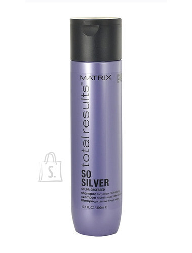 Matrix Total Results So Silver Color Obsessed Shampoo juuksešampoon 300ml