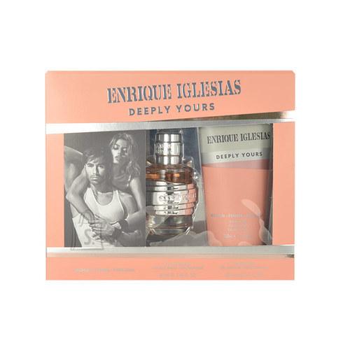 Enrique Iglesias Deeply Yours lõhnakomplekt naistele EdT 240 ml