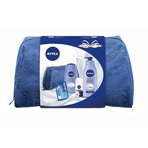Nivea Body Milk Smooth Sensation kehahoolduskomplekt