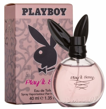 Playboy Play It Sexy tualettvesi naistele EDT 40ml