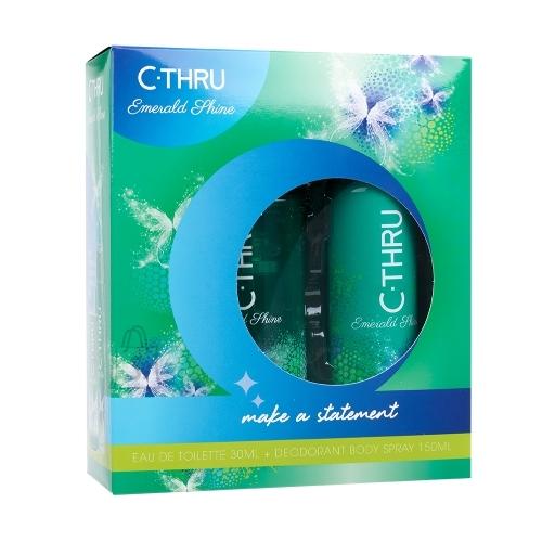 C-THRU Emerald Shine lõhnakomplekt