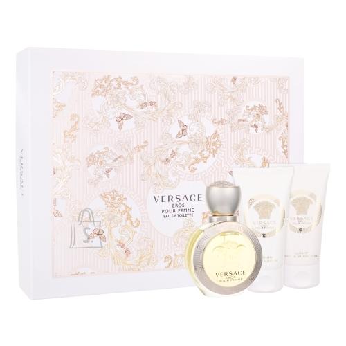 Versace Eros Pour Femme lõhnakomplekt EDT