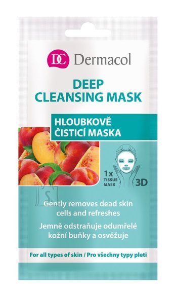 Dermacol Deep Cleansing Mask Face Mask (15 ml)