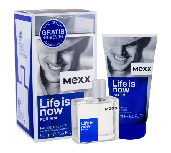 MEXX Life is Now for Him lõhnakomplekt EdT 50 ml