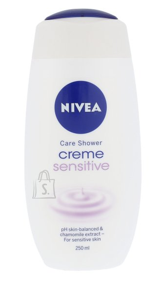 Nivea Creme Sensitive Shower Cream (250 ml)