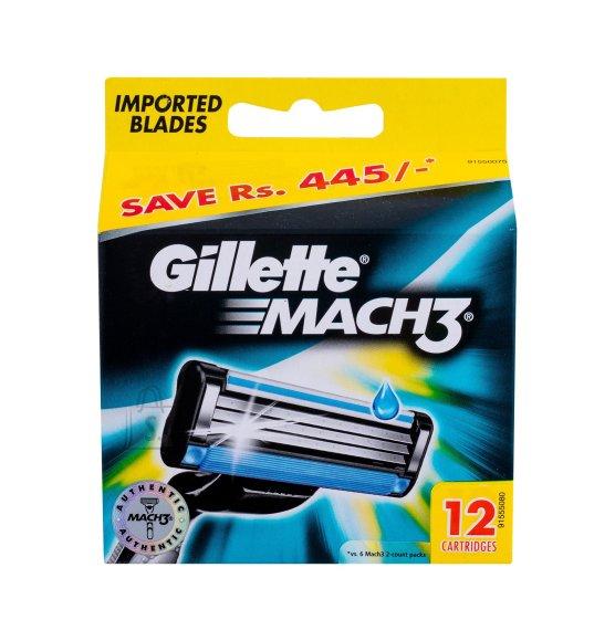 Gillette Mach3 žiletiterad 12 tk