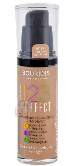 BOURJOIS Paris 123 Perfect Foundation jumestuskreem, 57 Light Bronze