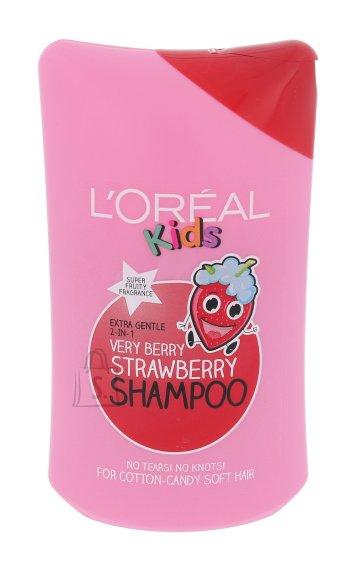 L´Oréal Paris Kids Very Berry Strawberry laste šampoon 250ml