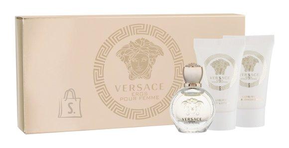 Versace Eros Pour Femme lõhnakomplekt EdP 5 ml