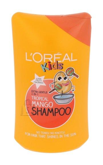L´Oréal Paris Kids Tropical Mango laste šampoon 250ml