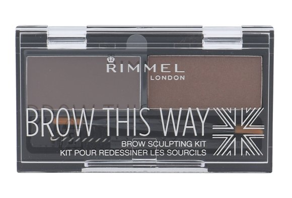 Rimmel London Brow This Way Set and Pallette For Eyebrows (2,4 g)