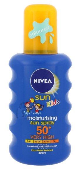Nivea Sun Kids Moisturising Protect & Care SPF30 päikesekaitsesprei 200ml