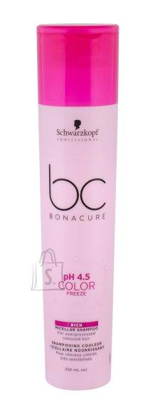 Schwarzkopf BC Color Freeze Rich Micellar šampoon 250ml