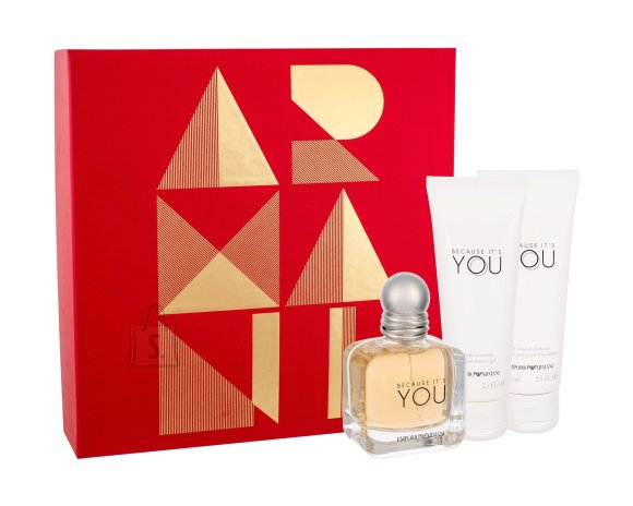 Giorgio Armani Emporio Because It´s You lõhnakomplekt EdP 50 ml