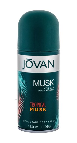 Jovan Tropical Musk Deodorant (150 ml)