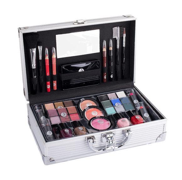 2K Fabulous Beauty Train Case meigikohver  (66,9 g)