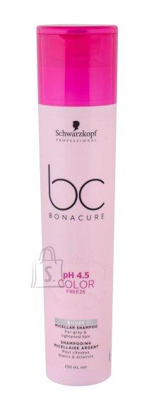 Schwarzkopf BC Bonacure pH 4.5 Color Freeze Silver šampoon 250ml