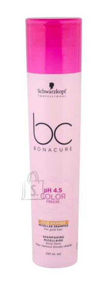 Schwarzkopf Professional BC Color Freeze Gold Shimmer šampoon 250ml