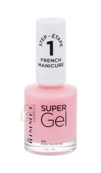 Rimmel London Super Gel French Manicure Nail Polish (12 ml)