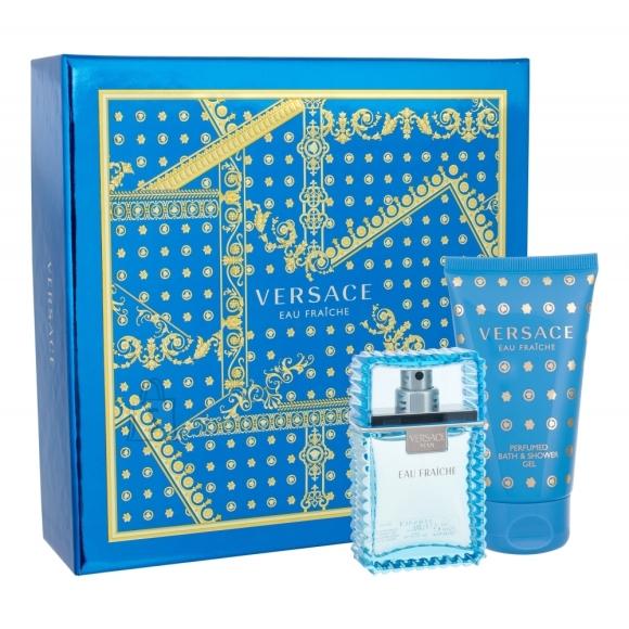 Versace Man Eau Fraiche lõhnakomplekt EdT 80 ml