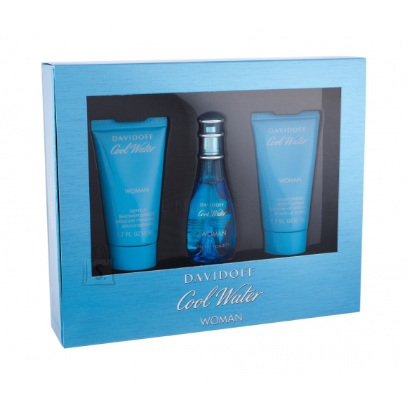 Davidoff Cool Water Woman lõhnakomplekt EdT 30 ml