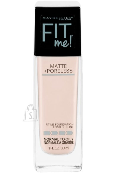 Maybelline Fit Me Matte + Poreless jumestuskreem, 102 Fair Porcelain