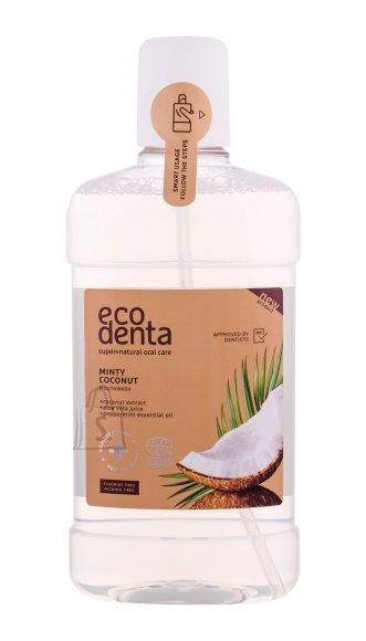 Ecodenta orgaaniline mündi-kookose suuvesi 500 ml